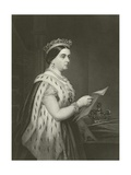 Queen Victoria Giclee Print by Alonzo Chappel