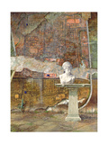 Herculaneum Site Plan, 1994 Giclee Print by Trevor Neal