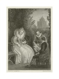Shakespeare's Interview with Queen Elizabeth Giclee Print by Thomas Stothard