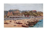 The East Cliff, Bournemouth Giclee Print by Alfred Robert Quinton