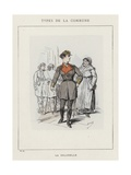 La Colonelle Giclee Print by Charles Albert d'Arnoux Bertall