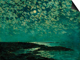 Moonlight, Isle of Shoals, 1892 Posters by Childe Hassam