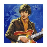 George Harrison of the Beatles Giclee Print