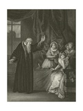 Mary Queen of Scots Reproved by Knox Giclee Print by Robert Smirke