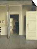 A Woman in an Interior, Strandgade 30, 1901 Prints by Vilhelm Hammershoi