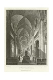 Interior Bonn Cathedral Giclee Print by William Tombleson