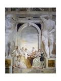 Concert Giclee Print by Giovanni Antonio Fasolo
