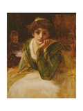 Oil Study for Desdemona, C.1889 Giclee Print by Frederick Leighton