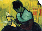 A Novel Reader Poster af Vincent van Gogh