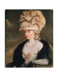 Frances D'Arblay Giclee Print by Edward Francis Burney