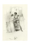 Othello Giclee Print by Joseph Kenny Meadows