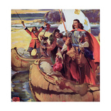 Samuel De Champlain Giclee Print