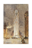 The Flat Iron Building, New York Giclee Print by Colin Campbell Cooper
