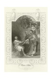 Timon of Athens, Act V, Scene II Giclee Print by Joseph Kenny Meadows