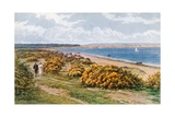Studland Bay Giclee Print by Alfred Robert Quinton
