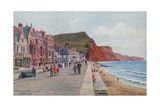 The Esplanade, Looking E, Sidmouth Giclee Print by Alfred Robert Quinton