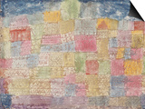 Colourful Landscape Prints by Paul Klee