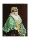 Woman from Constantinople, Standing, C.1876 Giclee Print by Jean Leon Gerome