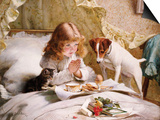 Suspense Prints by Charles Burton Barber