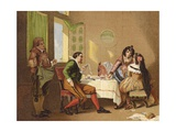 Le Diable Boiteux Giclee Print by Augustus Egg