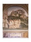Stories of St Benedict Giclee Print by Luca Signorelli
