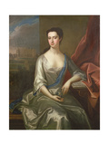 Portrait of Charlotte, Duchess of Somerset Giclee Print by Michael Dahl