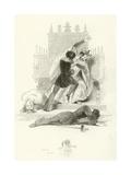 Hamlet Giclee Print by Joseph Kenny Meadows