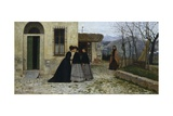 Visit Giclee Print by Silvestro Lega