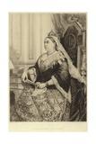 Portrait of Queen Victoria Giclee Print by Alexander Bassano
