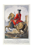 Gendarme Mounted on a Horse Giclee Print by Charles Joseph Dominique Eisen