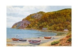 Llanbedrog Bay, Pwllheli Giclee Print by Alfred Robert Quinton