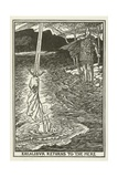 Excalibur Returns to the Mere Giclee Print by Henry Justice Ford