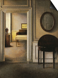 The Music Room, 30 Strandgade, circa 1907 Poster by Vilhelm Hammershoi