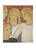 The Young Students, 1920 Giclee Print by Paul Serusier