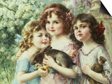 The Three Graces Posters by Emile Vernon