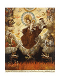 Virgin of the Carmelites, 1761 Giclee Print by Gaspar Miguel de Berrio
