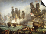The Battle of Trafalgar Art