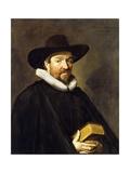Portrait of Conradus Vietor Giclee Print by Frans Hals