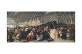 The Railway Station, 1862 Giclee Print by William Powell Frith