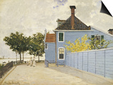 The Blue House, Zaandam Posters by Claude Monet