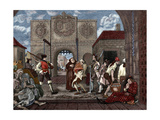 The Gate of Calais. Etching by William Hogarth Giclee Print by William Hogarth