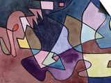 Dramatic Landscape; Dramatische Landschaft Art by Paul Klee