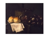 Inside Kitchen Giclee Print by Giuseppe Recco