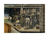 St George and the Princess, 1433-1438 Giclée-tryk af Antonio Pisanello