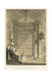 Doorway, Combe Abbey Giclee Print by Joseph Nash