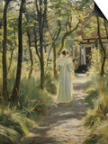 Marie in the Garden, 1895 Posters by Peder Severin Kröyer