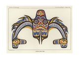 Haida Dog-Fish Giclee Print