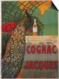 Cognac Jacquet, circa 1930 Poster af Camille Bouchet