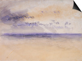 Off the Coast: Seascape and Clouds, 19th Century Prints by Joseph Mallord William Turner