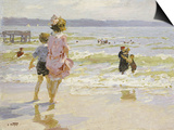 At the Seashore Prints by Edward Henry Potthast